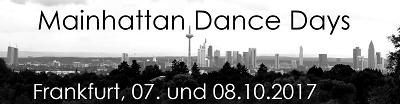 Mainhattan Dance Days 2017 – Trainingsmöglichkeit für alle interessierte Paare am Vorabend
