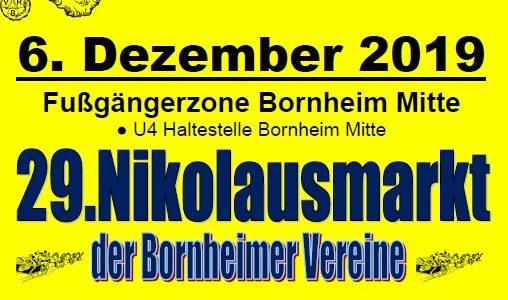 Schwarz-Silber lädt zum Nikolausmarkt auf die Berger Straße