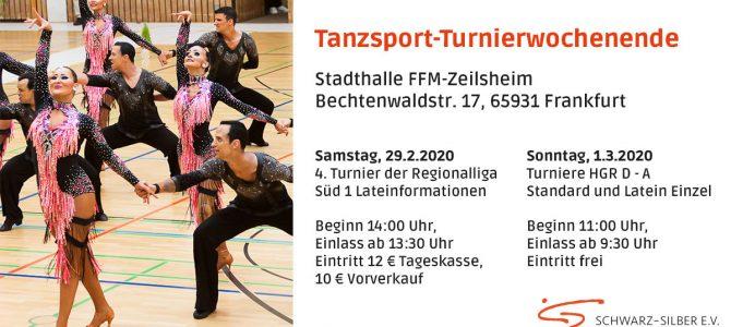 Formationsturnier Regionalliga Süd & Mainova Cup am kommenden Wochenende 29.02. + 01.03 – Finale Zeiten Sonntag