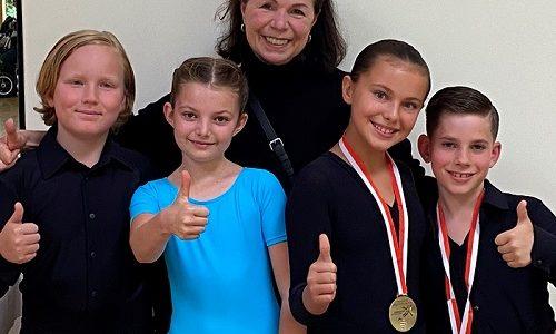 Schwarz-Silber Paare erfolgreich bei ihrer Turnierpremiere auf der Landesmeisterschaft
